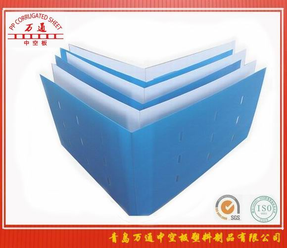 供应信息 青岛万通中空板塑料制品有限公司 万通 苹果冷库铁框围子板